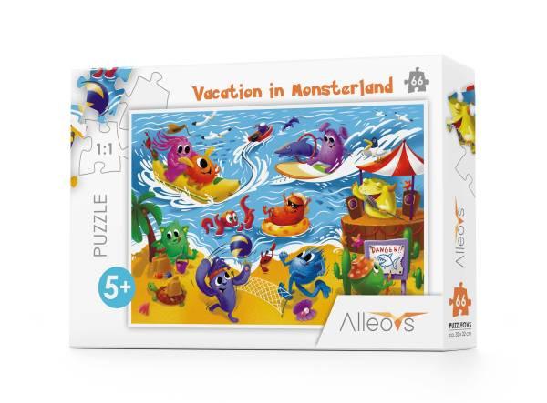 Alleovs | Puzzle Vacation in Monsterland