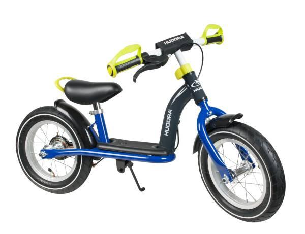 "Hudora | Laufrad Cruiser Boy Alu, 12"" | blau/lemon | 10088"