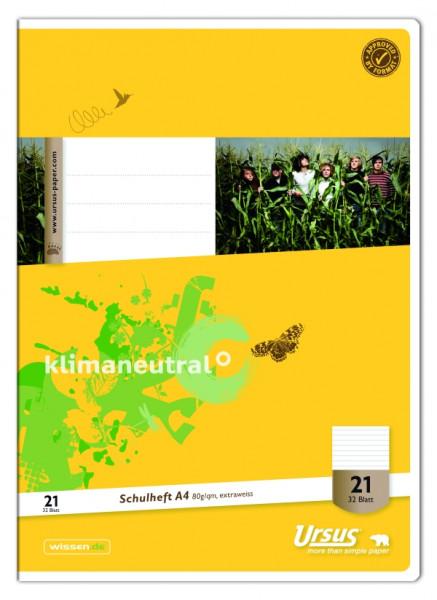 Ursus | Heft A4 | Lin21 | 32 Blatt | 040432021