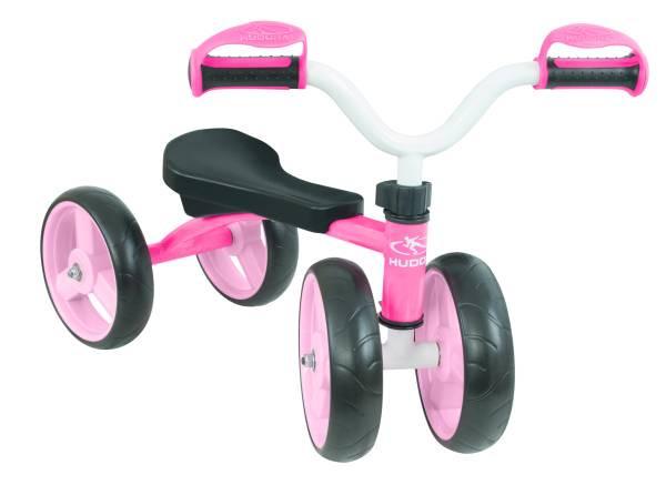 Hudora | Laufrad 4Wheely, 7,5, pink