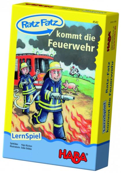 Haba: Ratz Fatz kommt die Feuerwehr