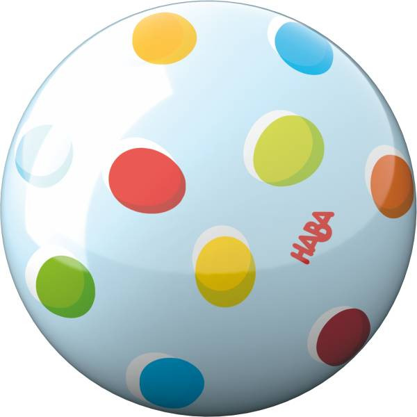 Haba   Ball Regenbogenpunkte
