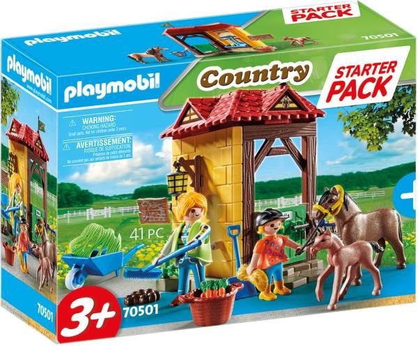 PLAYMOBIL® Country | Starter Pack Reiterhof
