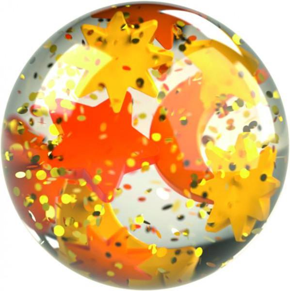 Haba   Kullerbü – Effektkugel Glitzer-Sterne