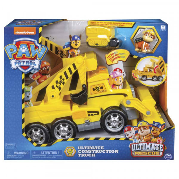 PAW Patrol | Ultimate Construction Truck