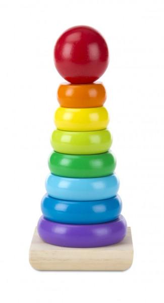 Melissa & Doug | Rainbow Stacker | Regenbogenstapler