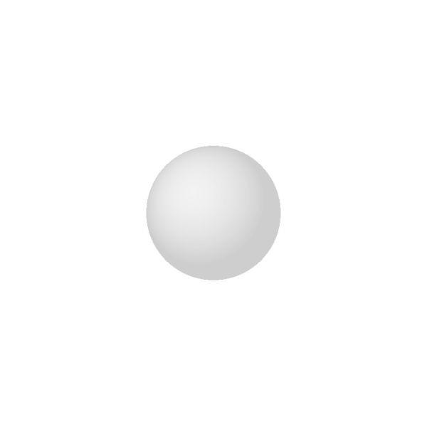 TAC-Verlag | Vierer-Set weiße Murmeln | 16mm | tac_z16w