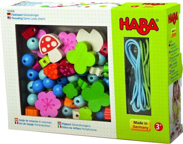 Haba | Fädelspiel Glücksbringer