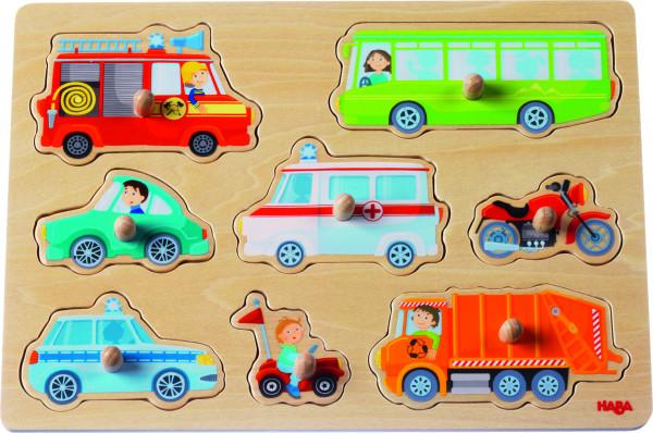 Haba | Greifpuzzle Fahrzeug-Welt