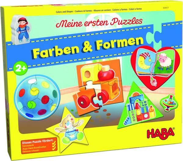 Haba | Meine ersten Puzzles – Farben & Formen