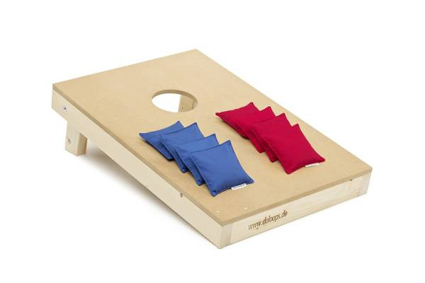 doloops | Original Cornhole Spielset | 1 Board und 8 Bags
