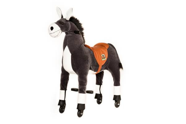 Animal Riding | Esel Dundy | grau