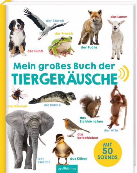 Ars Edition | Mein großes Buch der Tiergeräusche | 132036