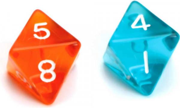 Amigo | Würfel Gem W08 | 8-seitig | 1 Stück, zufällige Farbauswahl