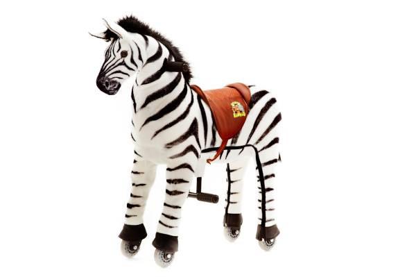Animal Riding | Zebra Marthi | Schwarz/Weiß