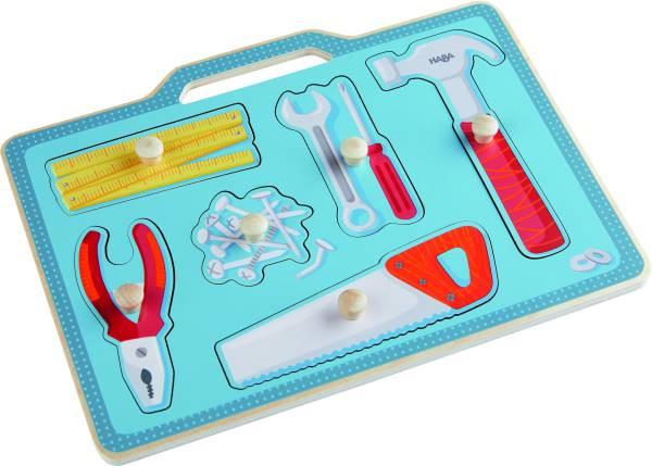 Haba | Greifpuzzle Werkzeugkasten