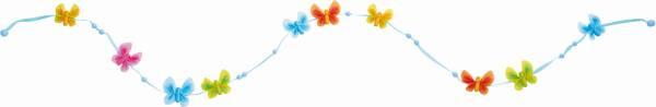 Haba   Stoffgirlande Schmetterlingsfreunde   301521