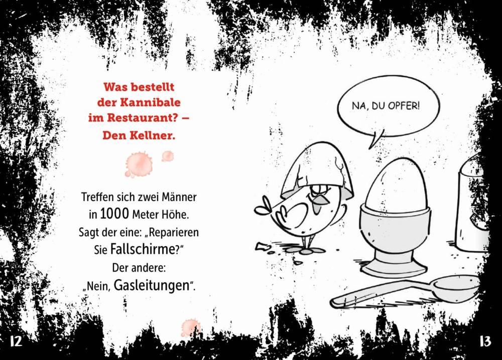 Witze böse baby Schwarzer Humor: