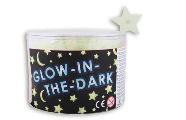 Vedes | Glow in the dark Sterne - klein | 1 Stück