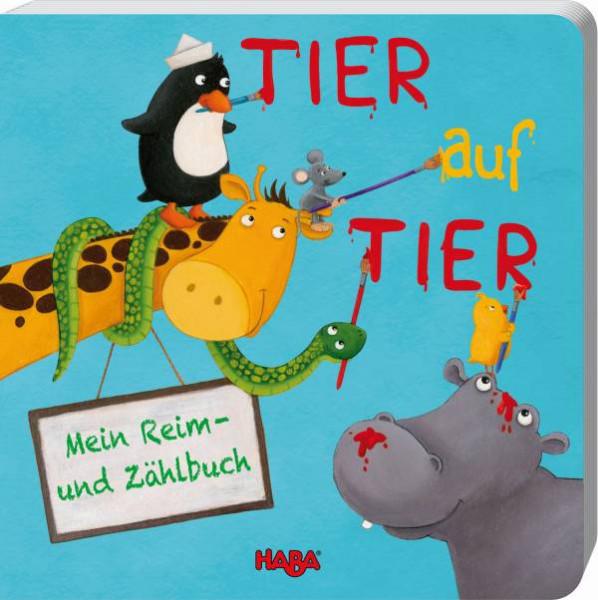 Haba   Reim- und Zählbuch: Tier auf Tier   301464