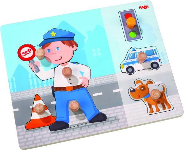 Haba | Greifpuzzle Polizeieinsatz