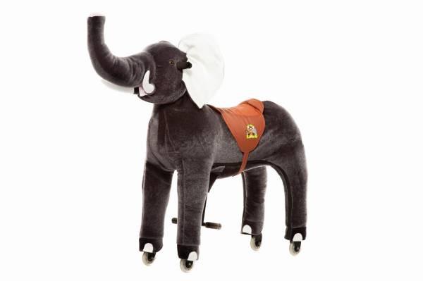 Animal Riding | Elefant Sultan | Grau