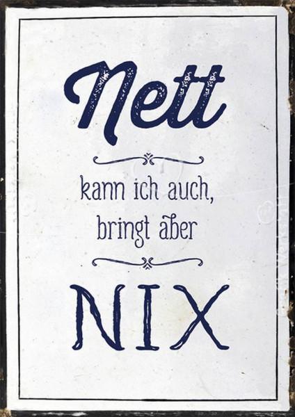 Grafik Werkstatt | Postkarte | VintageArt | Nett kann ich auch
