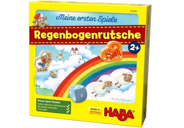 Haba | Meine ersten Spiele – Regenbogenrutsche