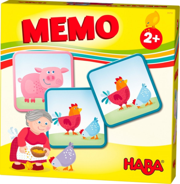 Haba | HABA-Lieblingsspiele – Memo Bauernhof