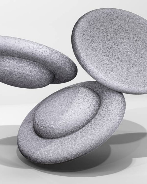 Stapelstein | BALANCE BOARD | 3 Balance Boards | grau