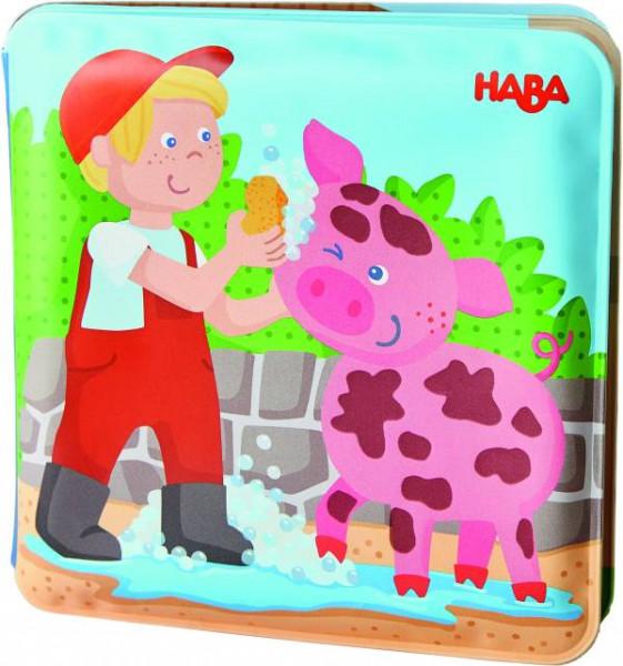 Haba   Badebuch Waschtag Schweine&Kuh   304707