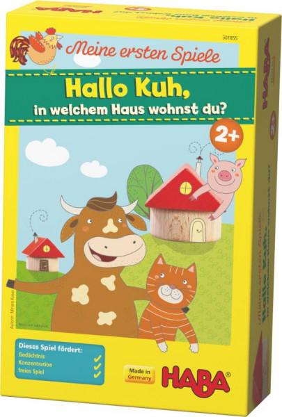 Haba | Meine ersten Spiele – Hallo Kuh, in welchem Haus wohnst du?