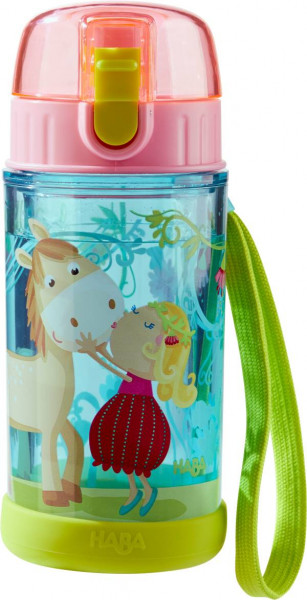 Haba   Glitzertrinkflasche Vicki & Pirli