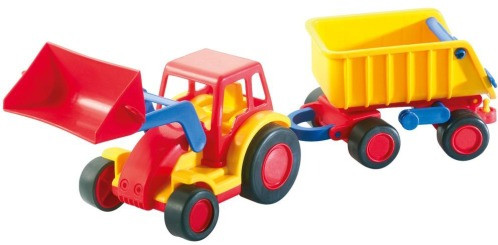 JV PP Polesie | WADER Basics Traktor m. Schaufel u. An | 37657