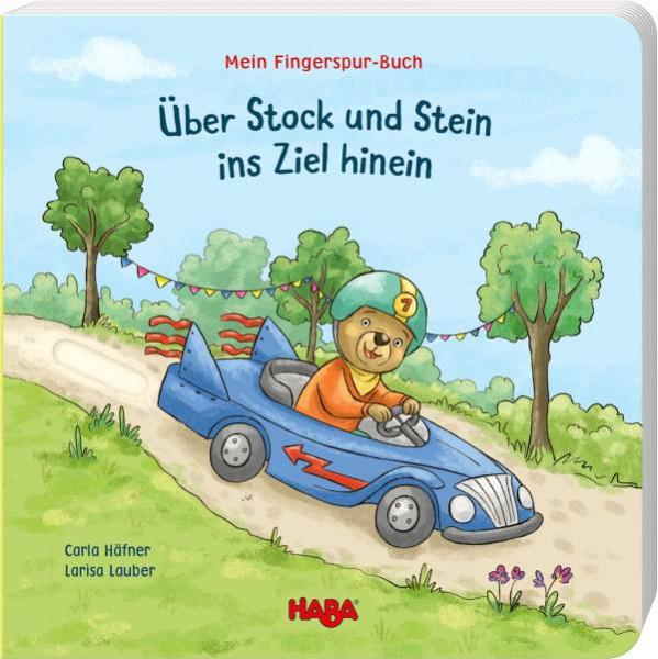 Haba | Mein Fingerspur-Buch – Über Stock und Stein ins Ziel hinein