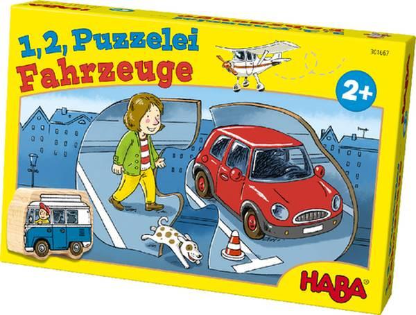HAba | 1, 2, Puzzelei – Fahrzeuge