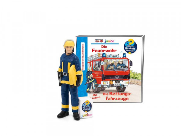 Tonies | Wieso Weshalb Warum Junior – Die Feuerwehr/Die Rettungsfahrzeuge