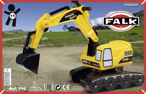 Falquet & Cie   Sitzbagger Excavator   100