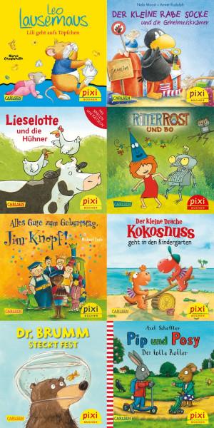 Carlsen Verlag | Pixi Serie 254, Die beliebtesten Bilderb | 105254