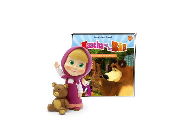 Tonies   Mascha und der Bär - Ein neuer Freund für Mascha   01-0118