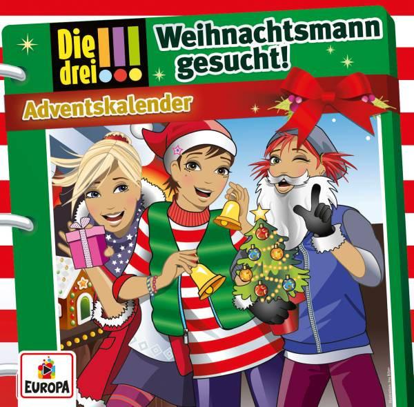 Die drei !!! Adventskalender Weihnachtsmann gesucht - 2 CD`s