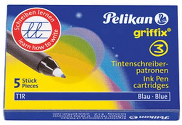 Pelikan | Ersatzpatronen Tintenroller Griffix T1R | 960567