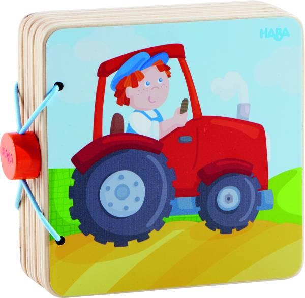 Haba | Holz-Babybuch Traktor