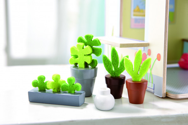 Haba   Little Friends – Puppenhaus-Zubehör Blumen & Pflanzen