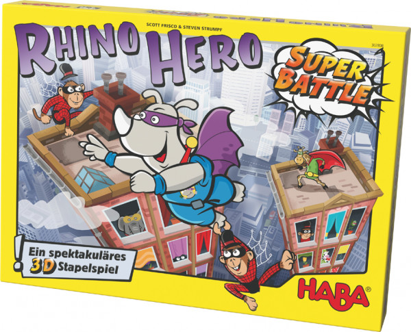 Haba | Rhino Hero – Super Battle