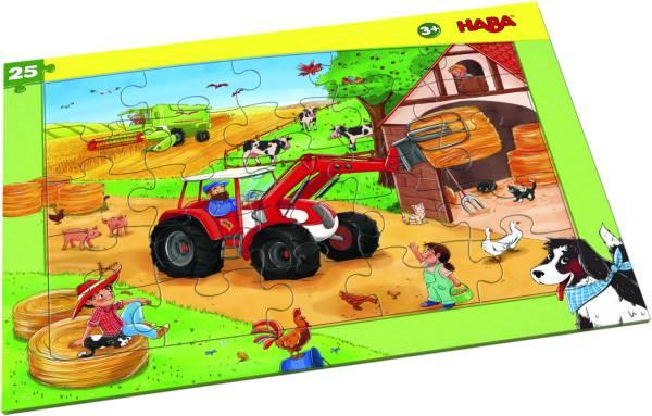 Haba | Rahmenpuzzle Landmaschinen
