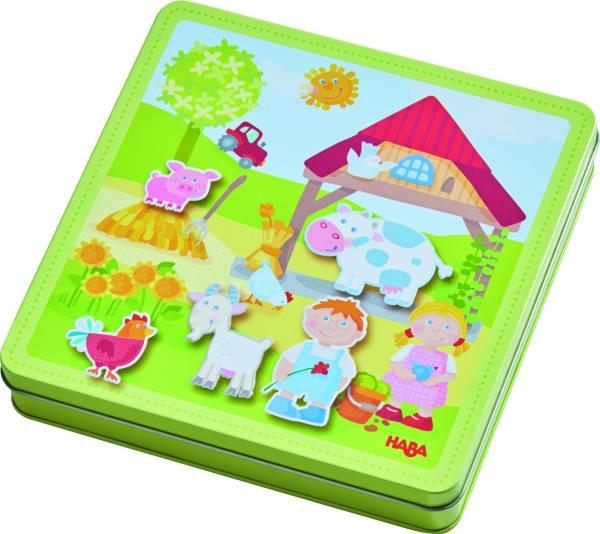 Haba | Magnetspiel-Box Peters und Paulines Bauernhof