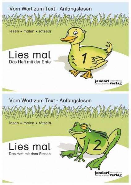 jandorfverlag KG   Lies mal - Hefte 1 und 2 (Paket)