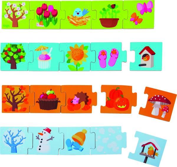 Haba   Zuordnungsspiel Jahreszeiten