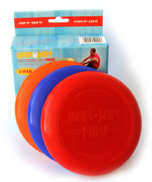 KanJam | Mini Frisbee 3er-Pack